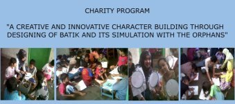 Designing Batik and Its Simulation with the Orphans