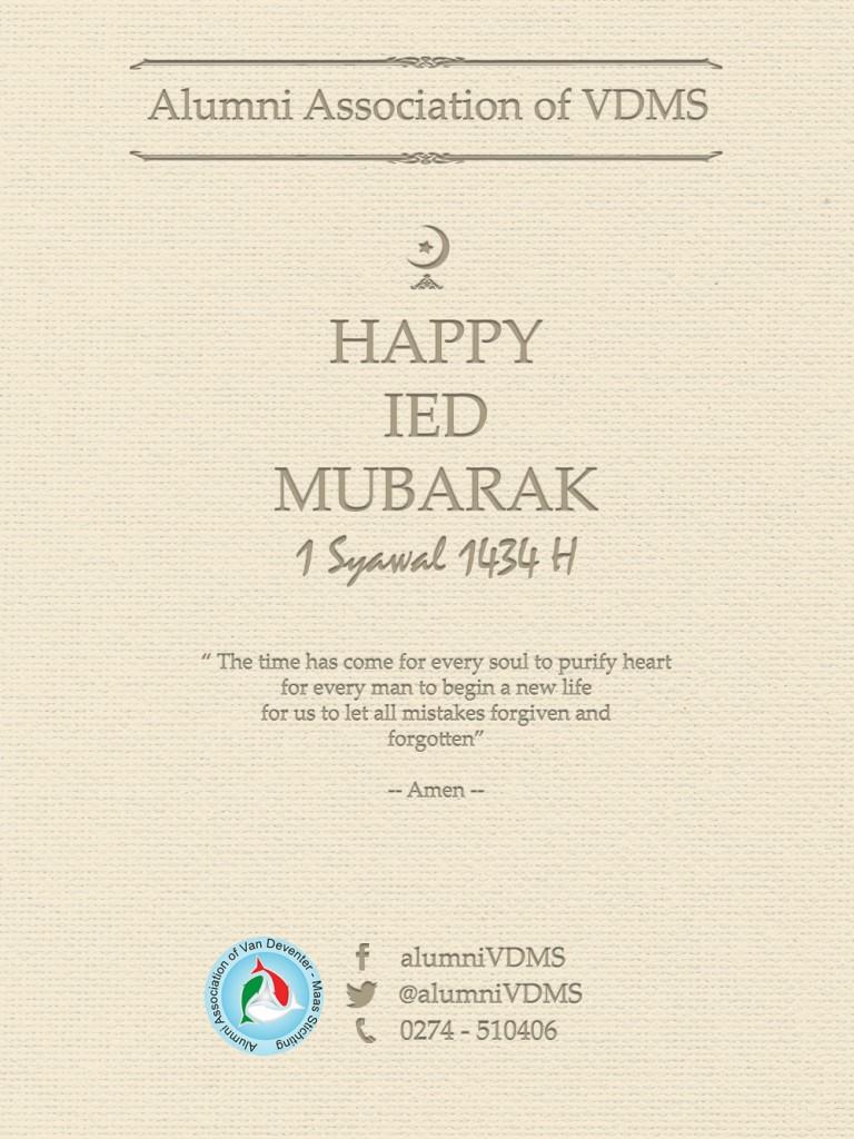 Happy Ied Mubarak 1434H