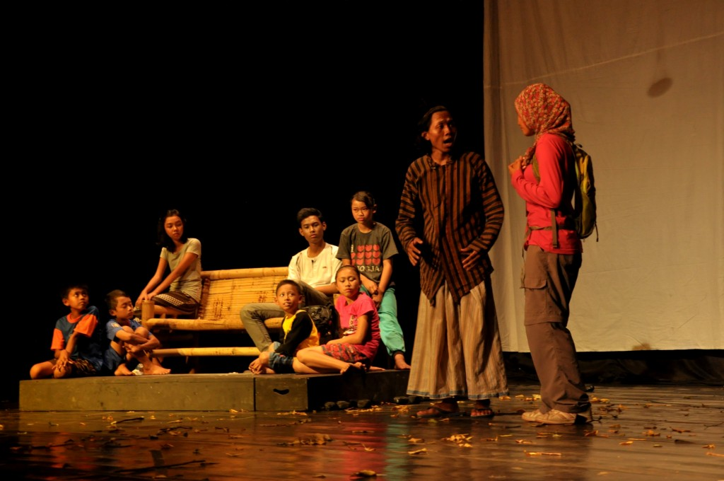 Adegan di Drama Musikal #MentariPagi
