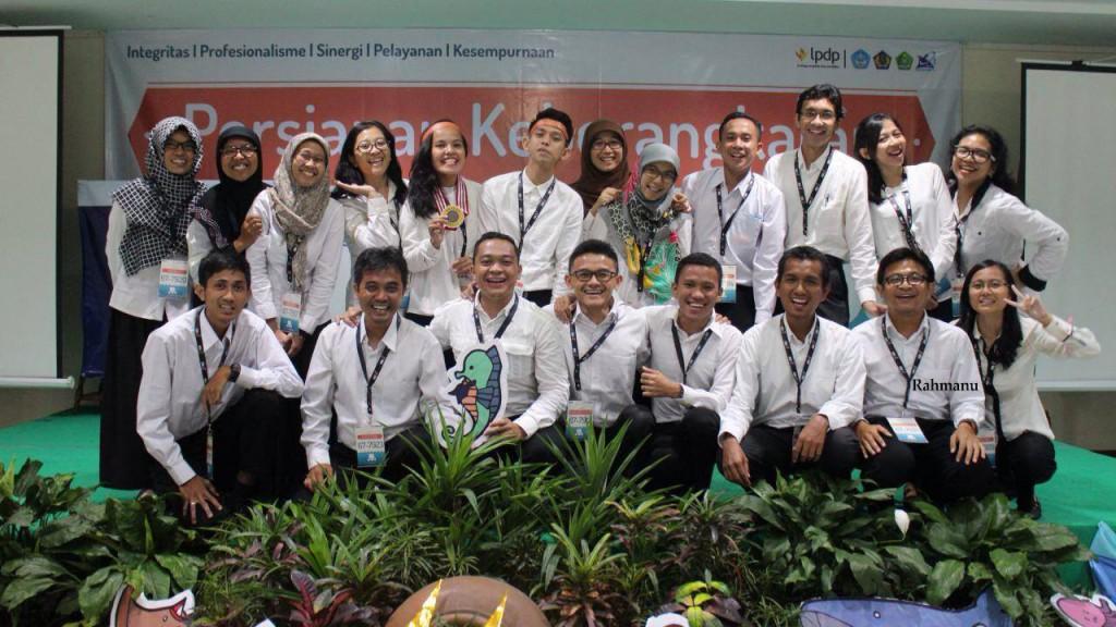 Participants Persiapan Keberangkatan (PK) LPDP  in Jakarta