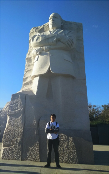 Dr. King's Giant Sculpture in Washington D.C.