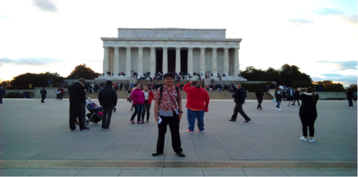 One of the Popular Tourist Spots in D.C. : Lincoln Memorial