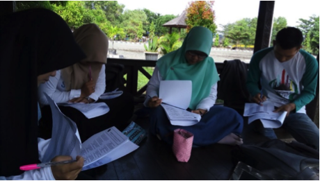 RR Banjarmasin – TOEFL Training and Sharing