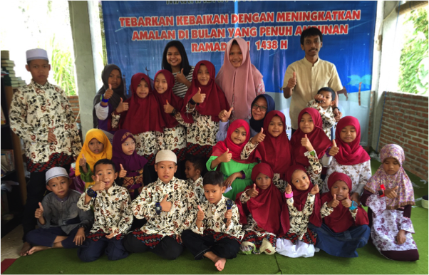 All Children in Panti Asuhan Yasibhu Malang