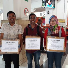 RR Yogyakarta – Meeting RR Yogya and Book Donation