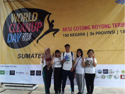 RR Medan : World Clean Up Day 2018
