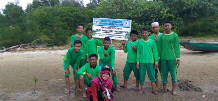 RR Banjarmasin : Mangrove Seed Planting