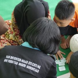 VDMI Gorontalo : Social Service in Orphanage on Anti Corruption Day