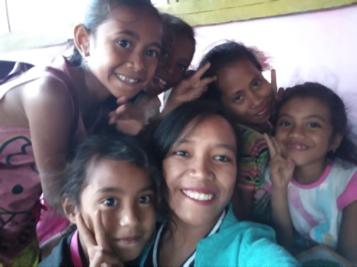 RR Kupang: Belajar Bersama di Taman Baca Oesapa
