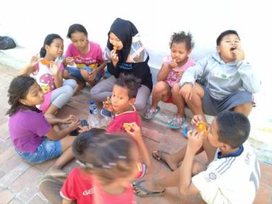 """RR Semarang: Berkontribusi melalui """"Gang Edukasi"""""""