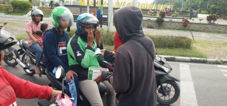 RR Padang: Berbagi Masker