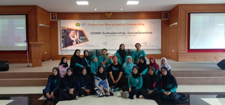 RR Padang: VDMI Socialization at Bung Hatta University