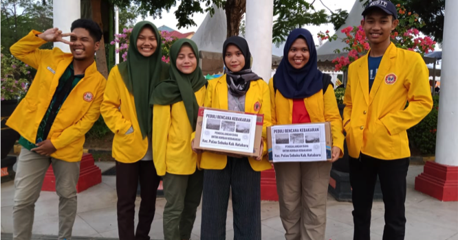 RR Banjarmasin: Fundraising Activity for fire accident in Sekubu Island
