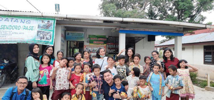 RR Medan: Volunteering activity at Sendoro Orphanage