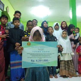 RR Jabodetabek-Bandung: Donation to Al-Falah Orphanage
