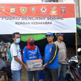 RR Ambon: Donation for Fire Victims in Ongkoliong