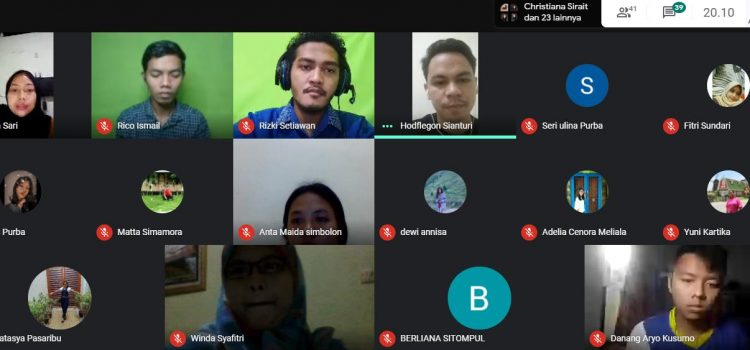 RR Medan: Virtual Meeting and Sharing