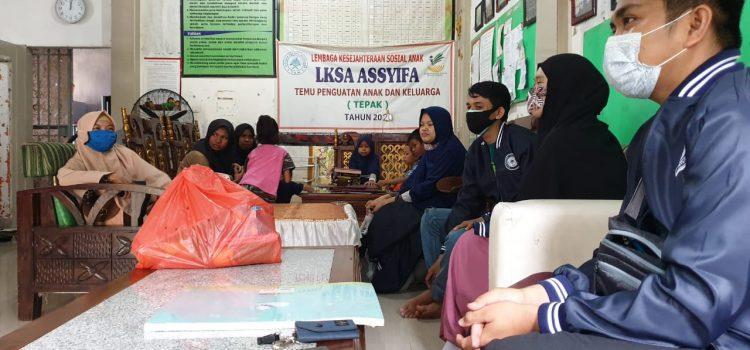 RR Makassar: The Initial Donation Distribution at LKSA Assyifa